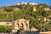 16842732-Gethsemane-and-the-Church-of-all-Nations-on-the-Mount-of-olives-in-Jerusalem-Stock-Photo